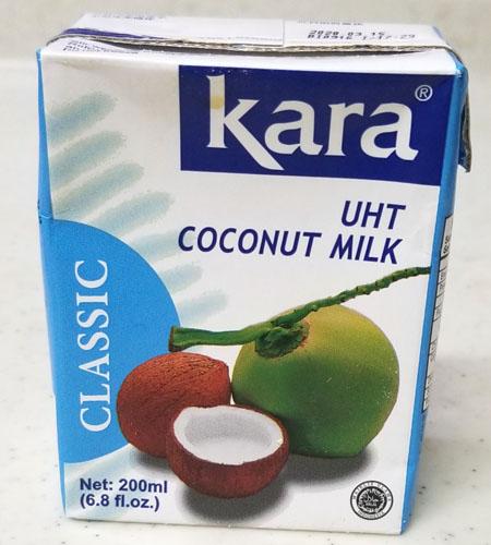 ココナッツミルク表