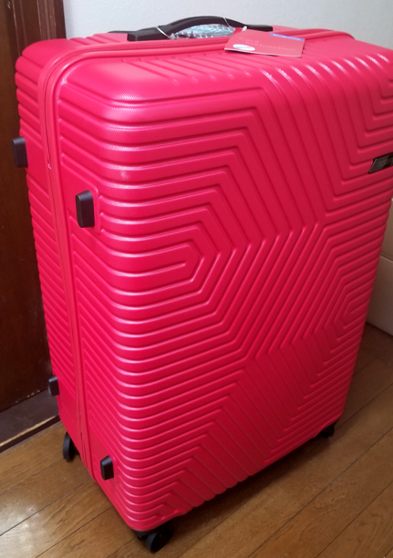 スーツケース横