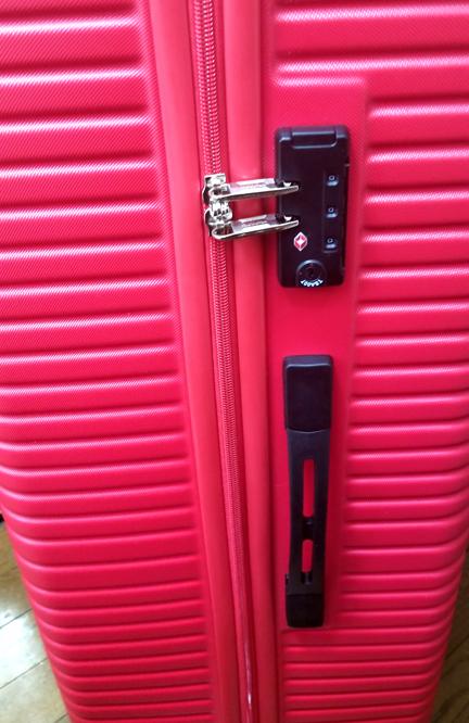 スーツケースロック